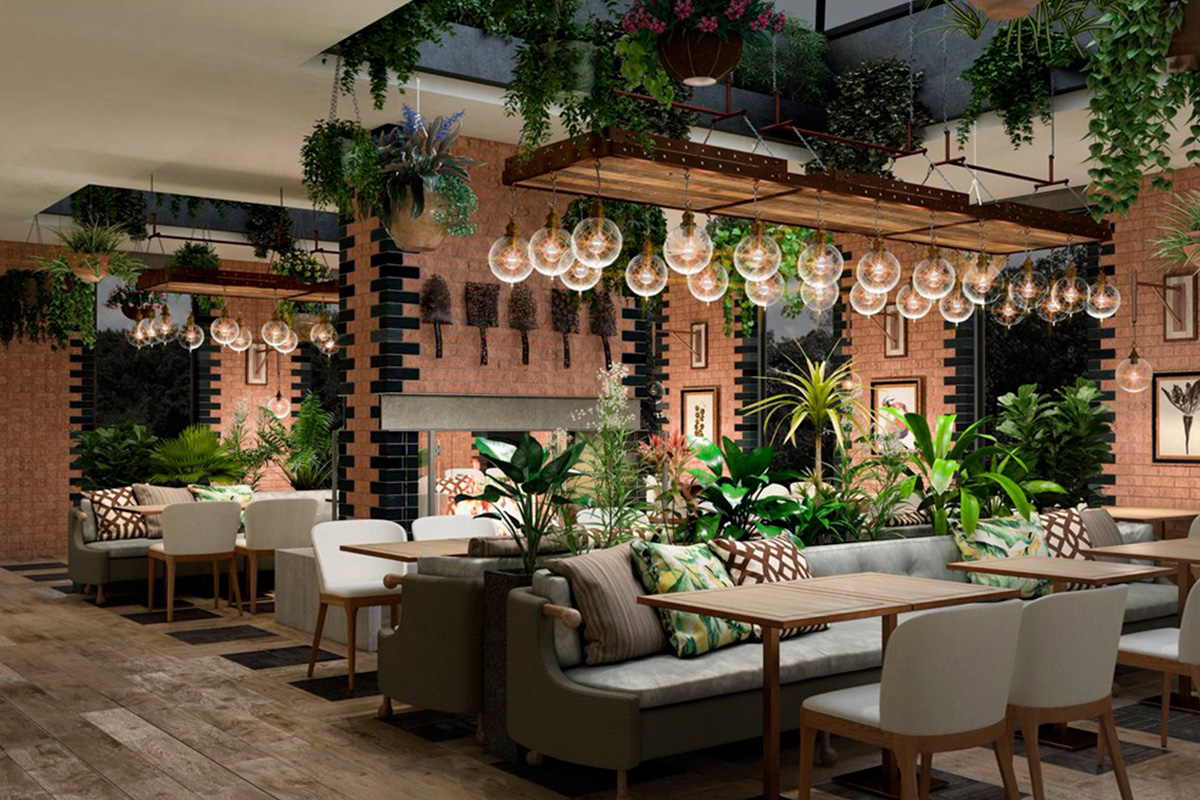 oaksmere hotel suffolk restaurant lighting