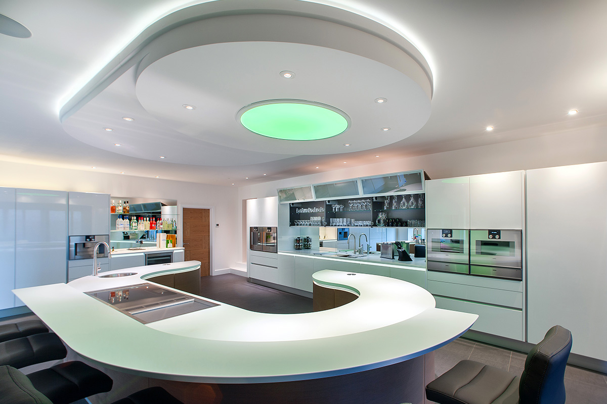 residential home kings lynn norfolk kitchen lighting 3